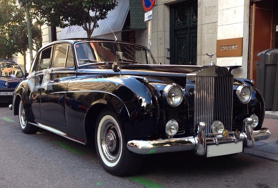 alquiler rolls royce silver cloud i madrid coches clasicos madrid coches para bodas. Black Bedroom Furniture Sets. Home Design Ideas